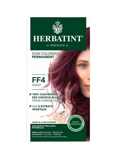 Herbatint Herbatint FF4 Vıolet  Saç Boyası Renkli
